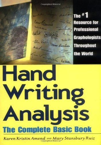 Handwriting Analysis by Karen Amend