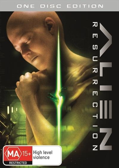 Alien Resurrection (Single Disc) on DVD image
