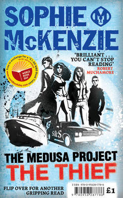 The Medusa Project: The Thief/Walking the Walls by Sophie McKenzie image