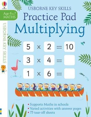 Multiplying Practice Pad 6-7 by Sam Smith image