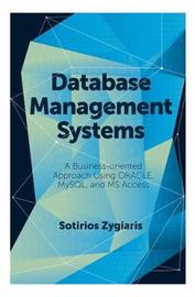 Database Management Systems by Sotirios Zygiaris