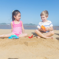 Hape: Master Bricklayer Beach Playset image