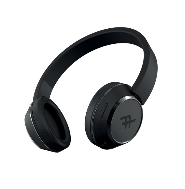 d9a539b79dd iFrogz: Coda Wireless Bluetooth Headphones With Mic - Black | at ...