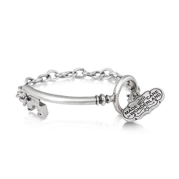 Couture Kingdom: Disney Key Bracelet- White Gold