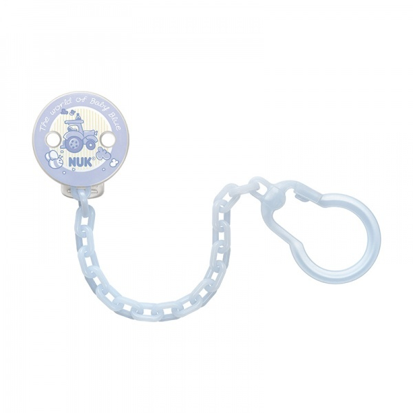 NUK: Soother Chain - Baby Blue