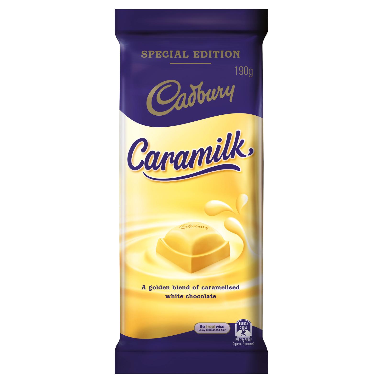 Cadbury Caramilk Chocolate 190g image