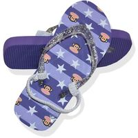 Paul Frank Purple Star Jandals (Size 11)
