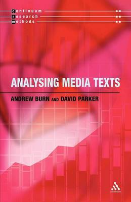 Analysing Media Texts by Andrew Burn image