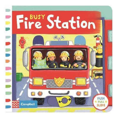 Busy Fire Station by Rebecca Finn