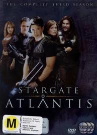 Stargate Atlantis - Complete Season 3 (5 Disc Box Set) on DVD image