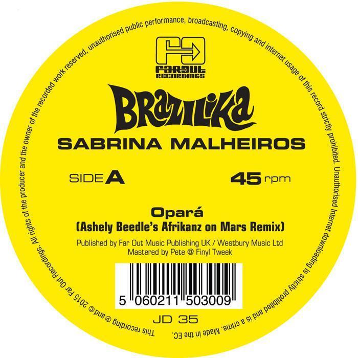 Opara (Ashley Beedle Remixes) by Sabrina Malheiros image