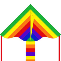 "HQ Kite: Rainbow - 33"" Eco Kite"