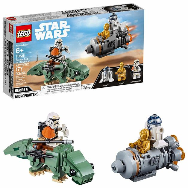 LEGO Star Wars: Escape Pod vs. Dewback - Microfighters (75228)