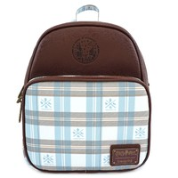 Loungefly: Harry Potter - Blue Check Mini Backpack image
