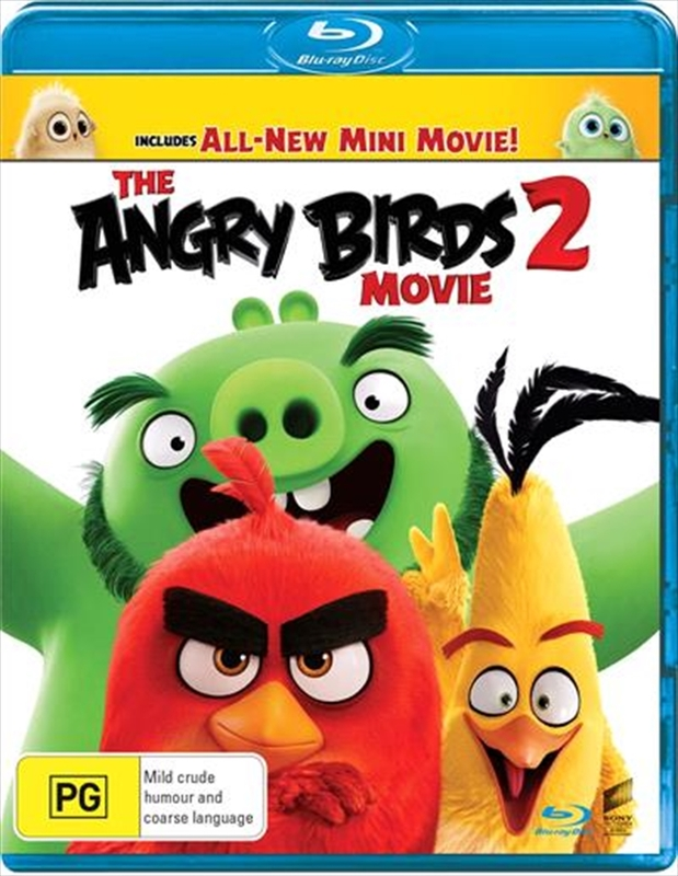 The Angry Birds Movie 2 on Blu-ray