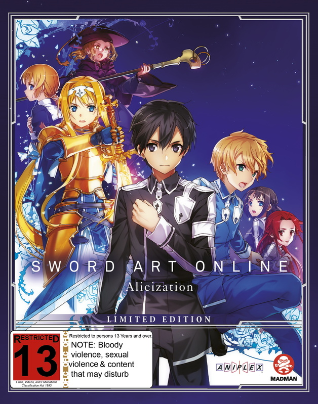 Sword Art Online Alicization - Part 2 (Eps 14-24) (Limited Edition) on Blu-ray