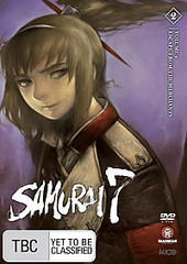 Samurai 7 - Vol 2: Escape From The Merchants on DVD