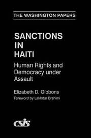 Sanctions In Haiti by Elizabeth D. Gibbons