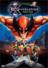 X-Men - Evolution: Mutants Rising on DVD