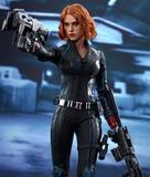 "Hot Toys Avengers 2 Black Widow 12"" Figure"