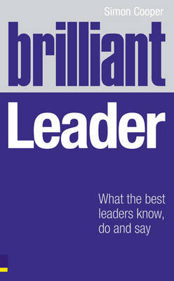 Brilliant Leader by Simon Cooper image