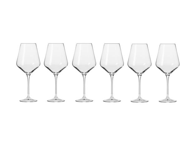 Krosno: Avant-Garde Wine Glass Set of 6 (490ml)