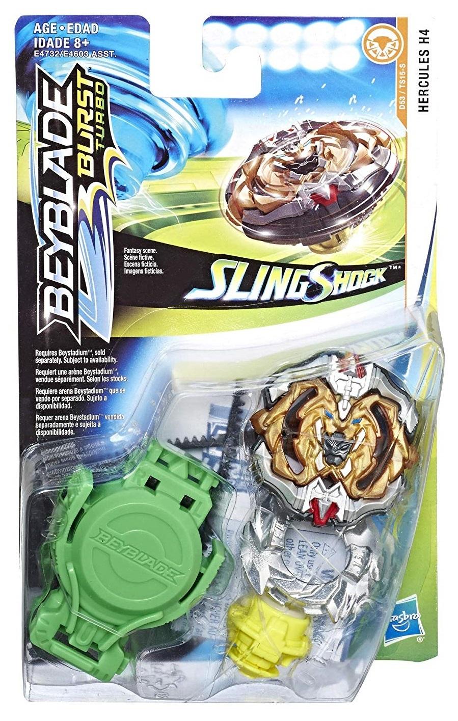 Beyblade Burst: Slingshock Starter Pack - (Hercules H4) image
