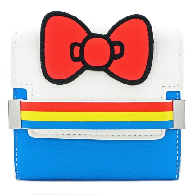 Loungefly: Hello Kitty - Striped with Bow Bifold Wallet