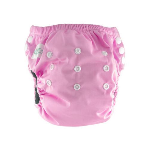Little Genie: Reusable Charcoal Training Pants - Pink