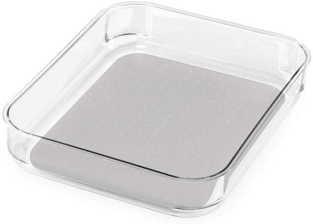 Madesmart: Clear Soft Grip Bin