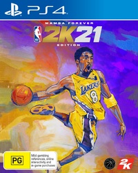 NBA 2K21 Mamba Forever Edition for PS4