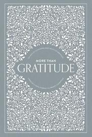 More than Gratitude by Korie Herold
