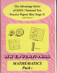 Mathematics Key Stage Two National Tests: Pack Two: With Answers by Mark Chatterton image