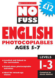 No Fuss English Photocopiables Ages 5-7 image
