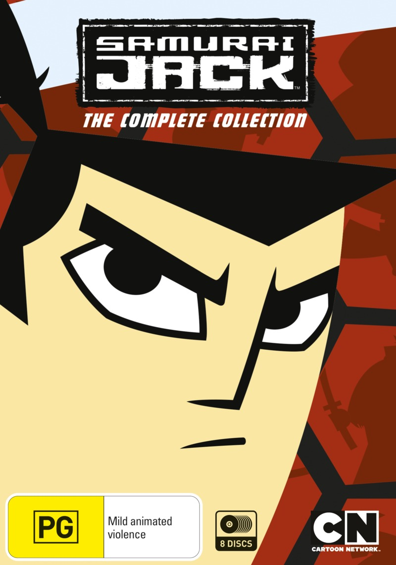 Samurai Jack - The Complete Collection on DVD image