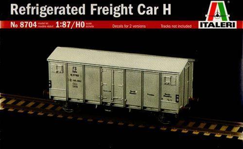 Italeri Refrigerated Freight Car H 1:87 Model Kit