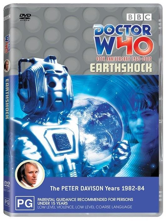Doctor Who: Earthshock on DVD