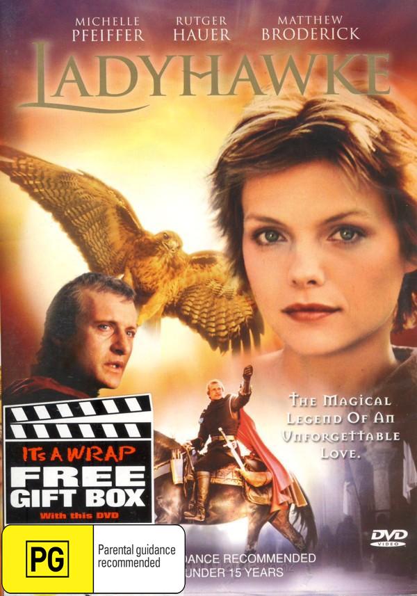 Ladyhawke on DVD image