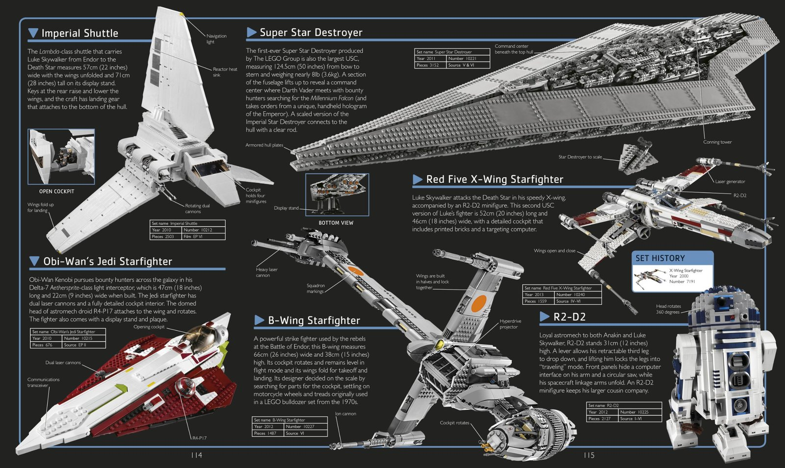 LEGO Star Wars: The Visual Dictionary (Updated and Expanded, incl Minifigure!) by Dorling Kindersley image
