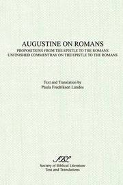 Augustine on Romans by Paula Landes image