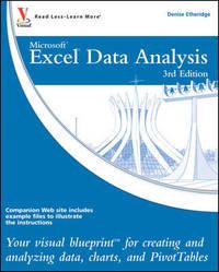 Excel Data Analysis by Denise Etheridge