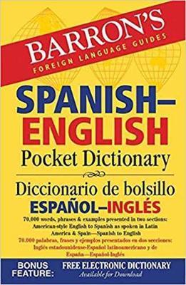 Barron's Spanish-English Pocket Dictionary by Margaret Cop