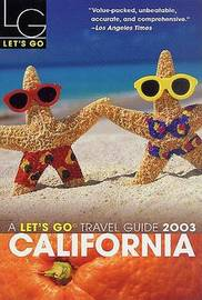 Let's Go California 2003 by Let's Go Inc image