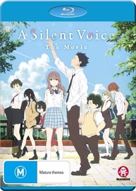 A Silent Voice on Blu-ray