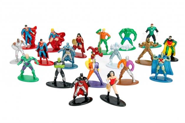 Jada Metal Minis: DC Comics - Nano Metalfigs 20-Pack