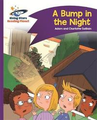 Reading Planet - A Bump in the Night - Purple: Comet Street Kids by Adam Guillain image