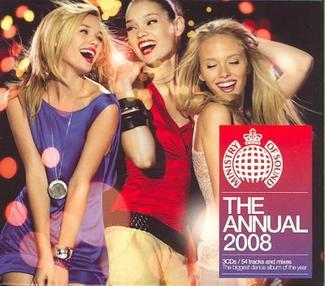 Ministry Of Sound - Annual 2008 UK (3CD) by Various image