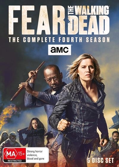 Fear The Walking Dead: The Complete Fourth Season on DVD image