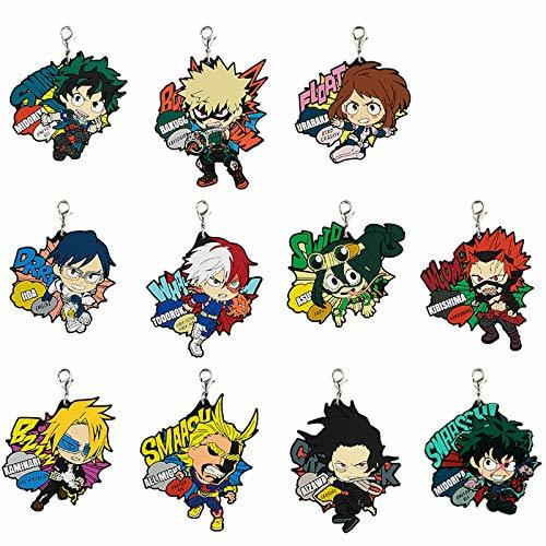 My Hero Academia: Enter The Hero - Rubber Charm (Assorted)