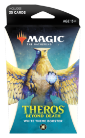 Magic The Gathering: Theros Beyond Death Theme Booster- White image